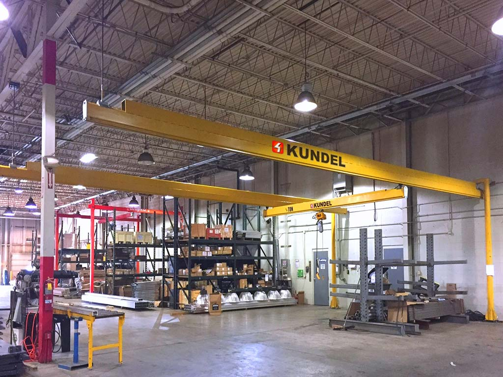 Ktrac Overhead Workstation Bridge Cranes Up To 3 Ton
