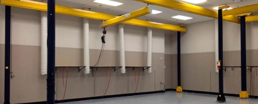 Tell Me About the Overhead Bridge Crane and Workstation Crane